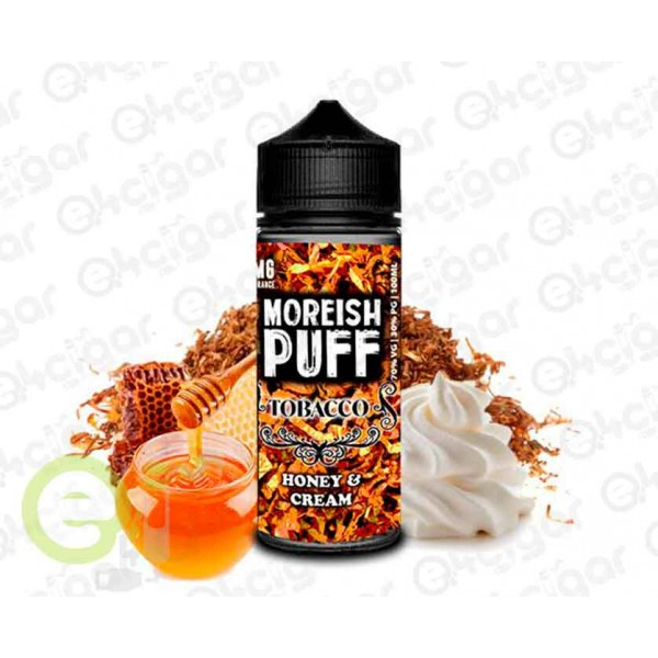 Moreish Puff Tobacco Honey And Cream 100ml