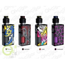 WISMEC Luxotic Surface 80W Squonk TC Kit com Kestrel Tank