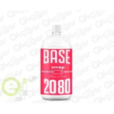 Base 1L 20PG/80VG 00mg Sevap