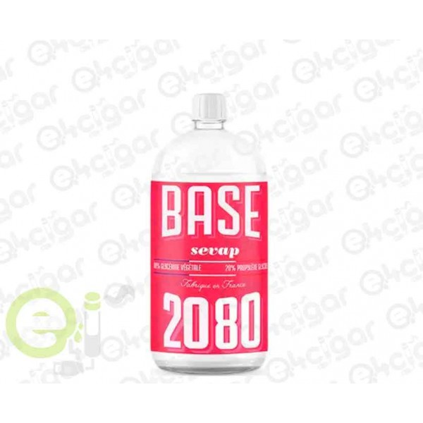 Base 1L 20PG/80VG 00mg Sevap