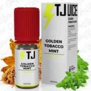 Aroma TJUICE Golden Tobacco Mint 10ml e 30ml