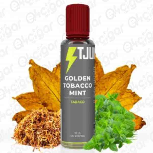 TJUICE Golden Tobacco Mint 50ml