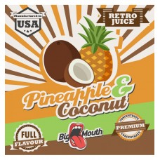 Aroma Big Mouth Retro Juice Pineapple Coconuts 10ml