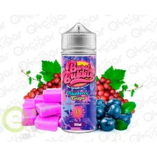 Burst My Bubble Blueberry Grape Bubblegum 100ml