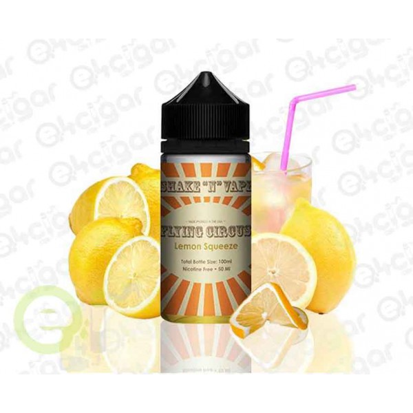 Flying Circus By Halo Lemon Squeeze 50ml