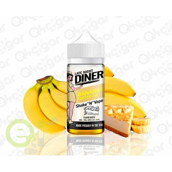 Late Night Diner by Halo Bananas Foster 50ml