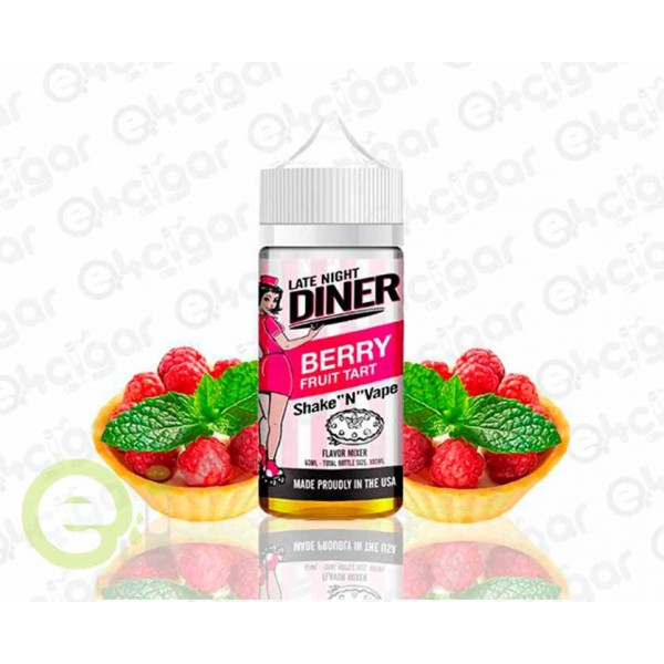 Late Night Diner by Halo Berry Fruit Tart 50ml