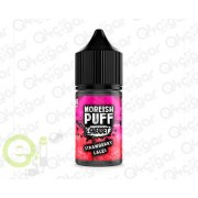 Moreish Puff Sherbet Strawberry Laces 25ml