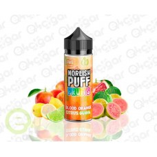 Moreish Puff Fruits Blood Orange Citrus Guava 100ml