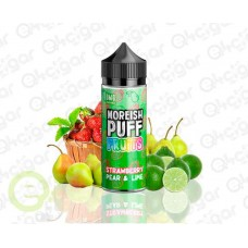 Moreish Puff Fruits Strawberry Pear & Lime 100ml