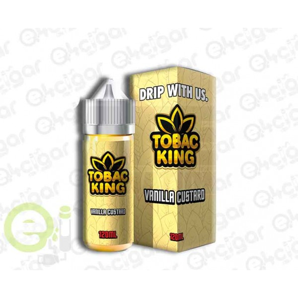 Tobac King Vanilla Custard 100ml